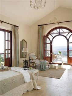 Un cortijo lleno de ventanales para disfrutar · ElMueble.com · Casas