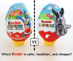 My boys will love this!! We found kinder surprise at a little mexican market once and yes, totally expensive for litterally nothing what so ever! Love this idea for them.