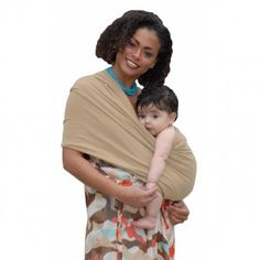 The Baby K'tan Baby Carrier's unique two loop design holds infants more securely than traditional slings. Easier to use than a wrap or structured front infant carrier or backpack carrier - No Wrapping or Buckle Involved. Easy to put on and take off. For Children up to 42 lbs.
