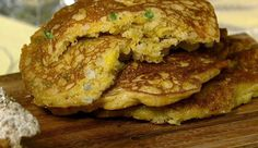 "Daphne Oz's ""The Chew"" Corn Cakes (sweet and spicy cakes)"