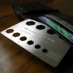 Takáto karta s kľúčmi na matky by mi v peňaženke prospela :P