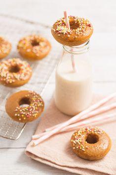easy fluffy vegan glutenfree baked donuts recipe ricetta donuts al forno vegan senza glutine #vegan #glutenfree #senzaglutine