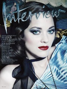 Marion Cotillard by Craig McDean for Interview Magazine