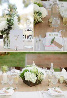 Klassisch elegante Hochzeitsdeko   Friedatheres