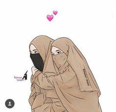 Read SAHABAT from the story Gambar muslimah by susiyanadesu (susi yana) with reads. Cartoon Girl Images, Cartoon Pics, Cute Cartoon Wallpapers, Girl Cartoon, Cartoon Art, Cute Muslim Couples, Muslim Girls, Photos Islamiques, Muslim Images
