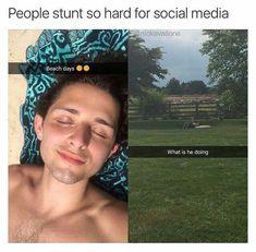 social media stunts