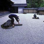 Zen Rock Garden Ryoanji, Kyoto, Japan