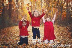 Family children child photography fall portrait leaves Utah photographer www.jenhamptonphotography.com