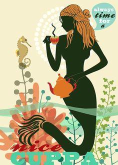 nice cuppalimited edition art print by sevenstar on Etsy,
