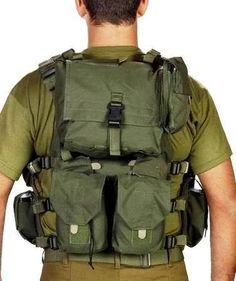 Swat Military Tactical Vest Cordura Combat Harness Distributed-load System New: Sports & Outdoors