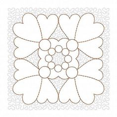 Heart Machine Embroidery Design, Trapunto, Quilting embroidery, Quilt Embroidery, Quilt pattern, Digital Pattern, Instant Download Machine embroidery design. You will need an Embroidery Machine to stitch this design. An instant download link will be available immediately after your