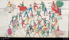 Nürnberger Schembart-Buch Erscheinungsjahr: 16XX  Cod. ms. KB 395  Folio 32