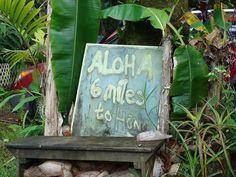 Six miles to Hana ~ Maui
