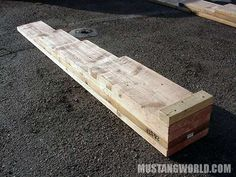 How to make your own low profile car ramps - CrossfireForum - The Chrysler Crossfire and SRT6 Resource