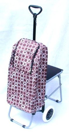Deluxe Folding Shopping Cart / Trolley with Seat & Insulated Bag Allcasion Travelware Company http://www.amazon.com/dp/B007VU30DG/ref=cm_sw_r_pi_dp_s-Mtub1WZ2A5J