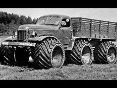 Советские вездеходы, не знающие преград! Не все даже видели - YouTube