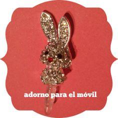 Mirad que cucada de adornito para el móvil forma parte del lote de nuestro #sorteo de #SanValentin!!!! A elegir en varios colores: piedras moraditas, blancas, verdes, azules o rosas https://www.facebook.com/events/461802030587400/