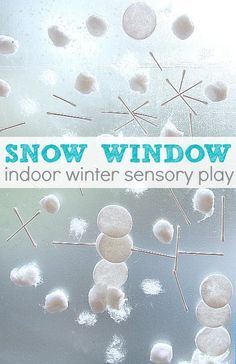 Fun winter activity for preschoolers that also works fine motor skills.