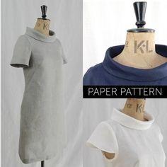 d6e01919005f The French Dart Shift Tunic sewing pattern
