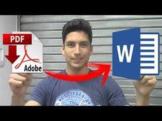 Como Convertir una Imagen ESCANEADA a Texto Word SIN Programas (Fácil) - YouTube