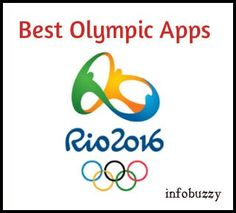 pretty nice 2c6d0 5d8af Top 8 Rio Olympic Apps To Stay Up-to-date In 2016 Jeux Olympiques