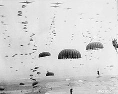 The Polish 1st Independent Parachute Brigade was among the Allied forces taking part in Operation Market Garden.