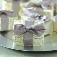 Garden Party: DIY White Box Party Favors