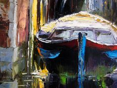 'View From the River' by Gleb Goloubetski Oil on Canvas 60cm x 50cm