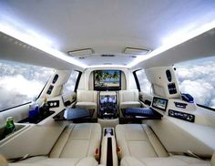 Everyone needs an office on their private jet...