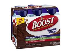 Boost Calorie Smart Balanced Nutritional Drink Rich Chocolate , 6 PK (Pack of 4) *** Unbelievable  item right here! : Weight loss Shakes and Powders