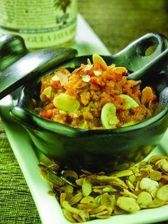 Vegan & Gluten free Aryuvedic Carrothalva with Gula Java (Palmsugar)