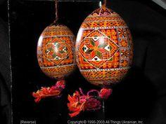 Ukrainian Easter Egg Pysanky 03-189  from the Lviv Region on AllThingsUkrainian.com