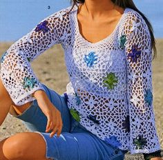 Crochet Sweater: Crochet - Crochet Sweater for Women