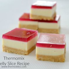 Easy Thermomix Jelly Slice Recipe