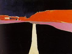 JordiWendy — grafurii: Nicolas de Stael, The Road from Uzes,. Abstract Landscape Painting, Landscape Art, Landscape Paintings, Art Paintings, Abstract Paintings, Action Painting, Collage Kunst, Art For Sale Online, Contemporary Abstract Art