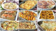 10 RICETTE contorno con le PATATE Tortellini, Baked Potato, Mashed Potatoes, Buffet, Food And Drink, Cooking Recipes, Ethnic Recipes, Contouring, Diet