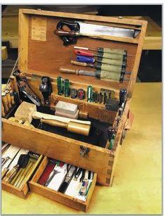 Ah! E se falando em madeira...: Caixa + lista de ferramenta para iniciar
