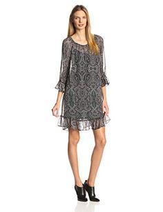 Ella moss Women's Baroque Print Silk Chiffon Rufflec Dress, Willow, Small Ella Moss http://www.amazon.com/dp/B00NSLF8AA/ref=cm_sw_r_pi_dp_jQ6lvb1EY6HYT