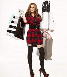Spend, spend, spend: Isla Fisher in the film Confessions of a shopaholic - does her character need a cure? Isla Fisher, Hugh Dancy, Confessions Of A Shopaholic, Bloom, Look Fashion, Fashion Tips, Gossip Girl, Celebrity Pictures, Outfits