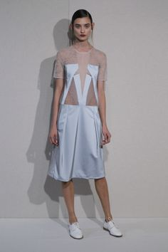 Anne Valérie Hash SS 14. PAUSE collection. Lace. Retro reflective material. Asymmetrical cuts. Wo/Man