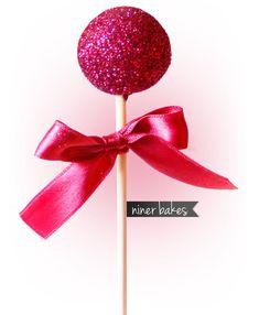 Ein frohes neues Jahr 2013, die Cake Pops glitzern und funkeln für Euch | niner bakes