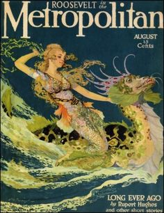 Art for the Cover of Roosevelt in the Metropolitan magazine, by Willy Pogany, Aug 1916