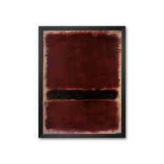 Art.com Untitled, 1963 Framed Art Print by Mark Rothko, Multicolor