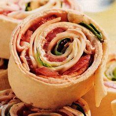 Lunchbox Ideas - Italian Pinwheels