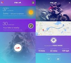 TVS Motor launched IRIDE smart app for Android