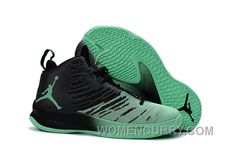b65ad01e61ee Mens Jordan Super.Fly 5 Black Green Glow For Sale Christmas Deals AGASn