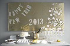 DIY NYE Party Decoration Decor New Year