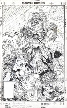 X-Men #8 by Jim Lee, in AlbertMoy's Jim Lee Comic Art Gallery Room - 245485