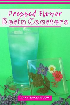 These pressed flower resin coasters are seriously a beautiful addition to your home. Find out how easy they are to make with this tutorial! #resincoasters #craftrocker Easy Diy Crafts, Diy Arts And Crafts, Diy Craft Projects, Craft Tutorials, Projects For Kids, Coaster Crafts, Diy Coasters, Handmade Gifts For Friends, Diy Gifts