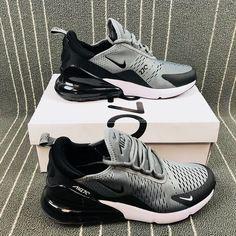 promo code 0de23 a03a6 Top Quality Nike Air Max 270 Retro Grey Black-White Men s Skateboarding  shoes Casual AH8050-003